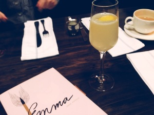 French 75 (Gin, Sparkling Wine, Lemon)